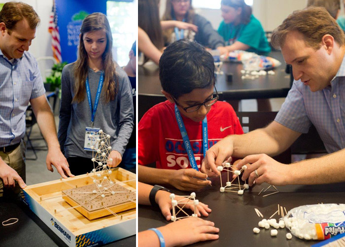 Benham Structural Engineers at STEM Summer Camp