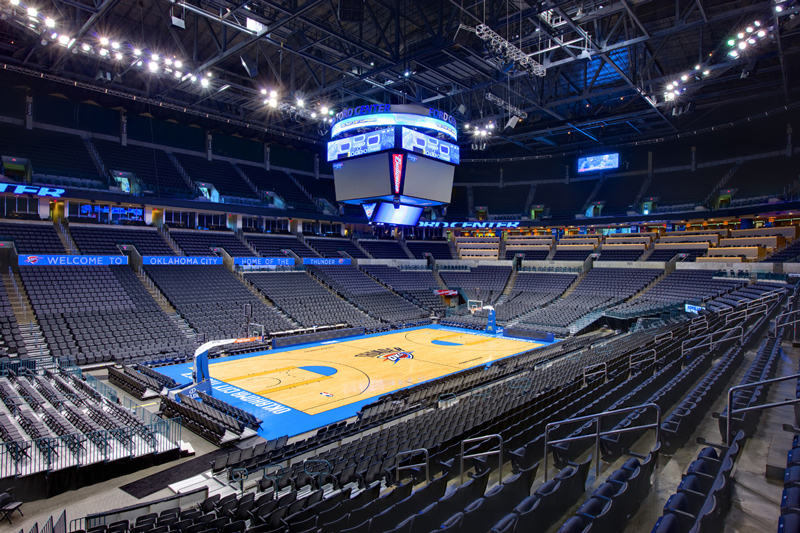 Benham Designs A Home For The Oklahoma City Thunder 174 Nba