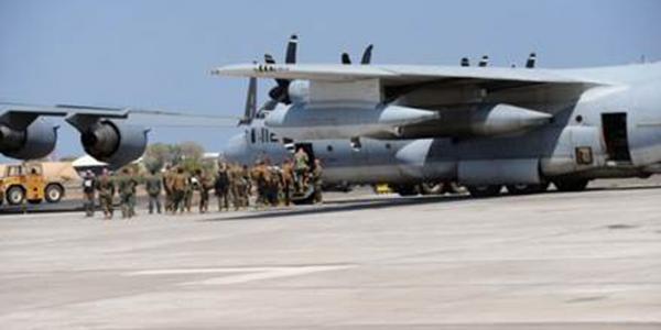 Taxiway Aircraft Apron Djibouti NAVFAC
