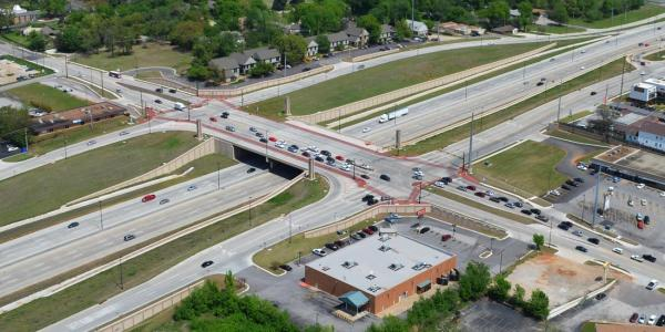 I-44 Lewis Interchange in Tulsa