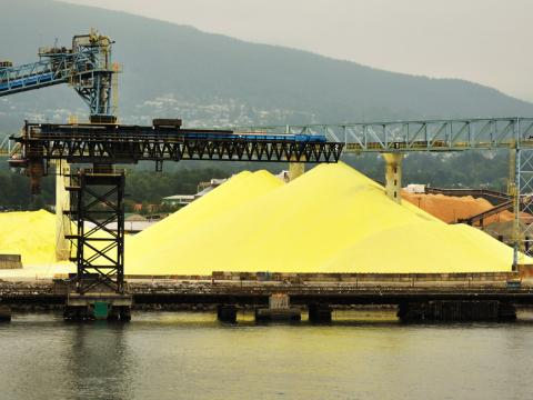 Sulphur Forming and Transloading Facility