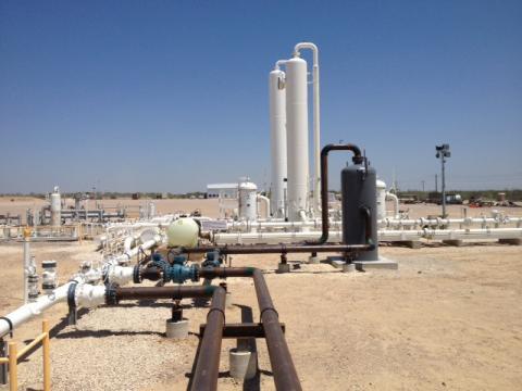 Liquids Handling Upgrades/Compressor Station